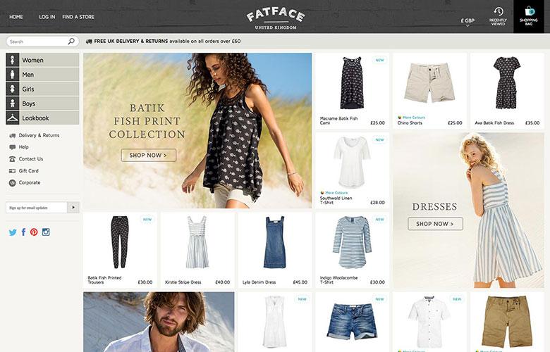 Fatface.com ~ View details