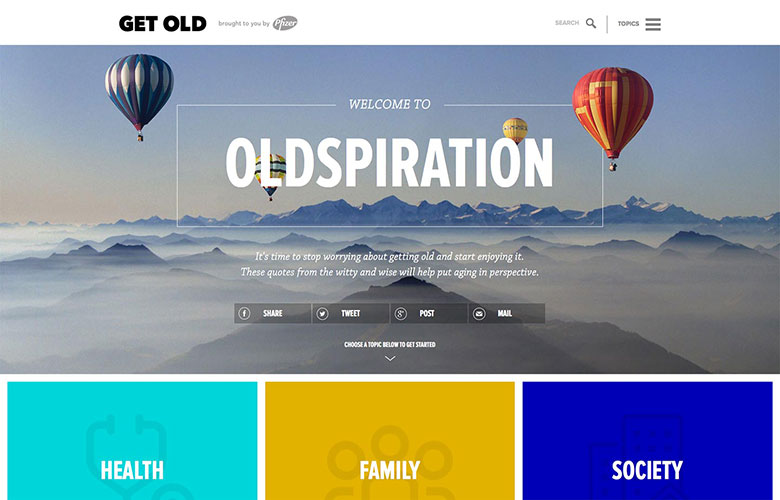 Oldspiration Campaign ~ View details