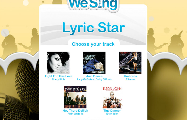We Sing Lyric Star ~ View details
